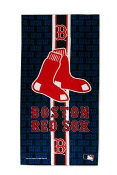 Red Sox Fiber Reactive Beach Towel | By DomesticBin