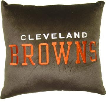 "NFL Cleveland Browns 16"" Plush Pillow 