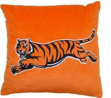 """BENGALS TIGERS 16"""" Plush Pillow 