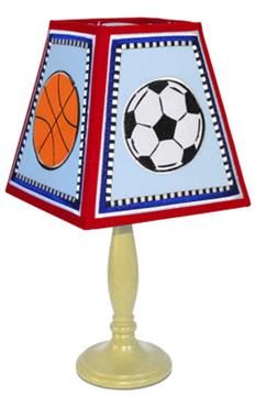 LETS PLAY BALL Lamp