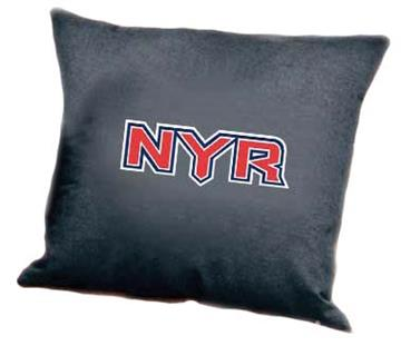 "NEW YORK RANGERS Denim 18"" Square Pillow 