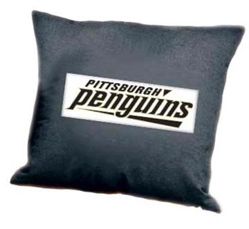 "PITTSBURGH PENGUINS Denim 18"" Square Pillow 