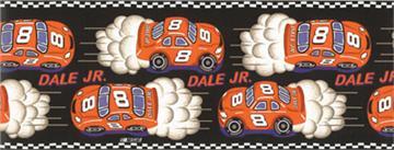 NASCAR #8 Dale Earnhardt Jr. Red Wallborder | By DomesticBin
