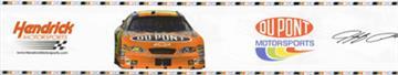 NASCAR #24 Jeff Gordon Royal Wallborder | By DomesticBin