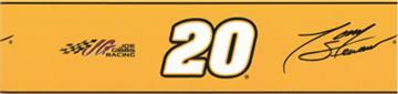 NASCAR #20 Tony Stewart Orange Wallborder | By DomesticBin