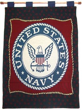 United States Navy Wall Hanging | By DomesticBin