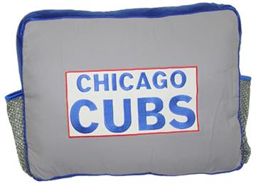 MLB Authentic CHICAGO CUBS Rectangular Logo Pillow   By DomesticBin