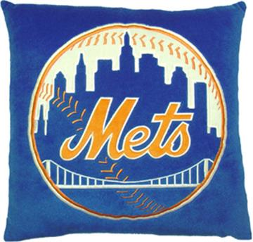 "NEW YORK METS 16""' Plush Pillow | By DomesticBin"