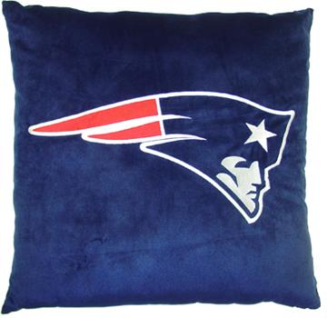 "NFL New England Patriots 27"" Euro Pillow 