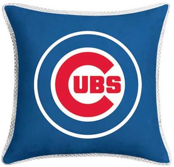 """MVP Chicago Cubs 17"""" Square Pillow 