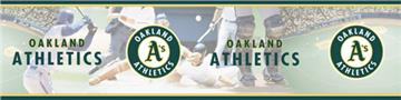 OAKLAND ATHLETICS Scenic Wall Border | By DomesticBin