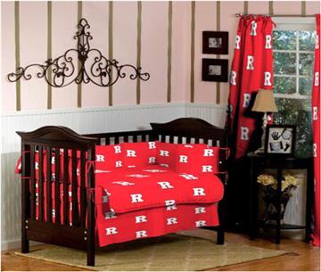 Rutgers University Baby Crib Set | By DomesticBin