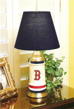 Boston Red Sox Ceramic Table Lamp | By DomesticBin
