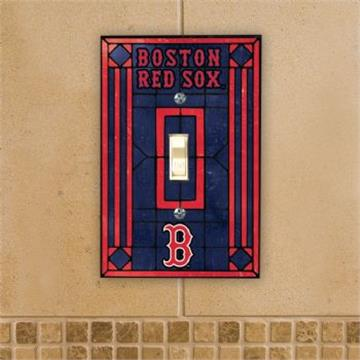 Boston Red Sox Switch Plate | By DomesticBin