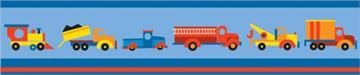 Boys Like Trucks Wall Border   By DomesticBin