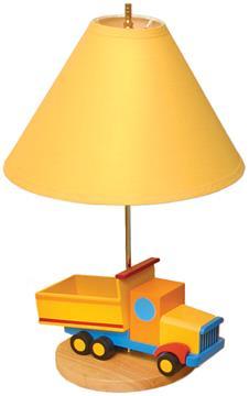 Boys Like Trucks Lamp | By DomesticBin