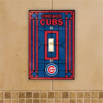 Chicago Cubs Switch Plate | By DomesticBin