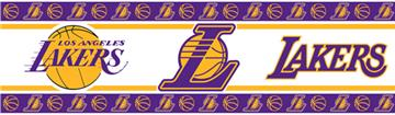 LA Lakers Wall Border | By DomesticBin