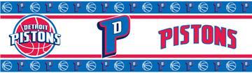Detroit Pistons Wall Border | By DomesticBin