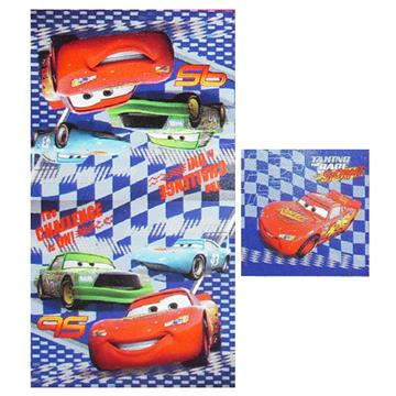Cars Challenge 2 Piece Towel Set | By DomesticBin