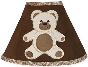 Teddy Bear Chocolate Lamp Shade | By DomesticBin
