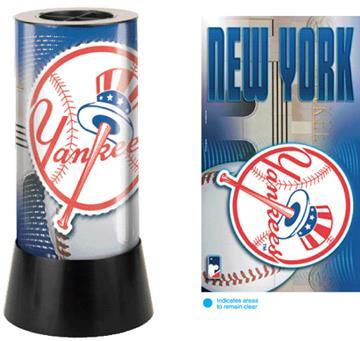 New York Yankees Rotating Lamp   By DomesticBin