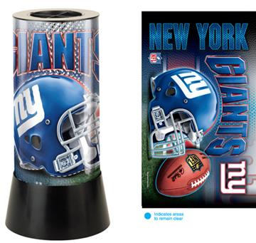 New York Giants Rotating Lamp | By DomesticBin