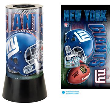 New York Giants Rotating Lamp | By DomesticBin