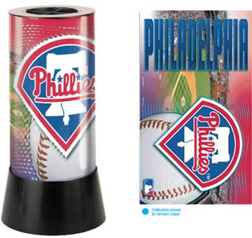Philadelphia Phillies Rotating Lamp | By DomesticBin