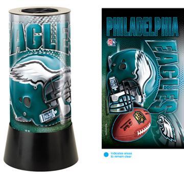 Philadelphia Eagles Rotating Lamp   By DomesticBin