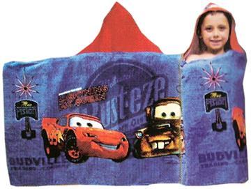 CARS NEON LIGHTS Hooded Towel | By DomesticBin
