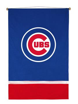 Chicago Cubs Sidelines Wall Hanging | By DomesticBin
