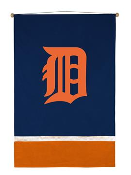 Detroit Tigers Sidelines Wall Hanging | By DomesticBin