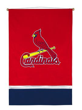 St Louis Cardinals Sidelines Wall Hanging | By DomesticBin