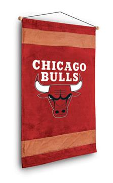 Chicago Bulls Sidelines Wall Hanging | By DomesticBin