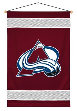Colorado Avalanche Sidelines Wall Hanging | By DomesticBin