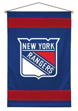 New York Rangers Sidelines Wall Hanging | By DomesticBin