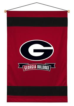 Georgia Bulldogs Sidelines Wall Hanging | By DomesticBin