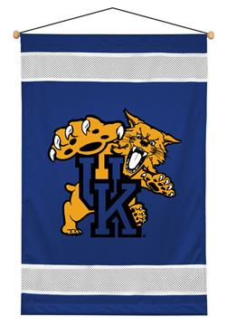 Kentucky Wildcats Sidelines Wall Hanging   By DomesticBin