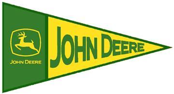 John Deere TRIANGLE Fablique | By DomesticBin