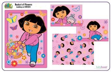 Dora Basket of Flowers Toddler Set | By DomesticBin