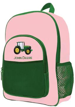 John Deere Pink Backpack | By DomesticBin