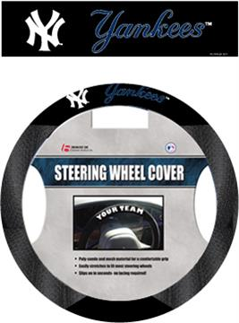 MLB New York Yankees Steering Wheel Cover | By DomesticBin