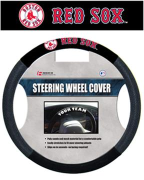 MLB Boston Red Sox Steering Wheel Cover | By DomesticBin