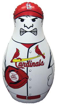MLB St. Louis Cardinals Inflatable Bop Bag | By DomesticBin