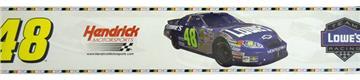 NASCAR #48 Jimmie Johnson Wallborder | By DomesticBin