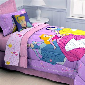 Princess Dance and Romance Twin Comforter | By DomesticBin