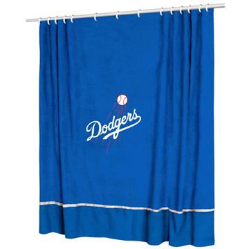 Los Angeles Dodgers MVP Shower Curtain | By DomesticBin