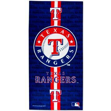 Texas Rangers Fiber Reactive Beach Towel | By DomesticBin