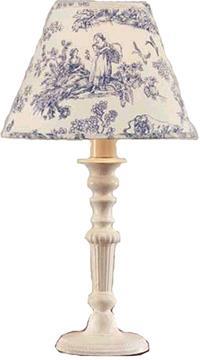 "13"" Vintage Beaded Lamp | By DomesticBin"